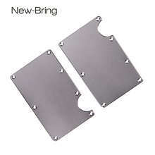 NewBring Accessories for Metal Mini Money Clip Credit Card ID Holder