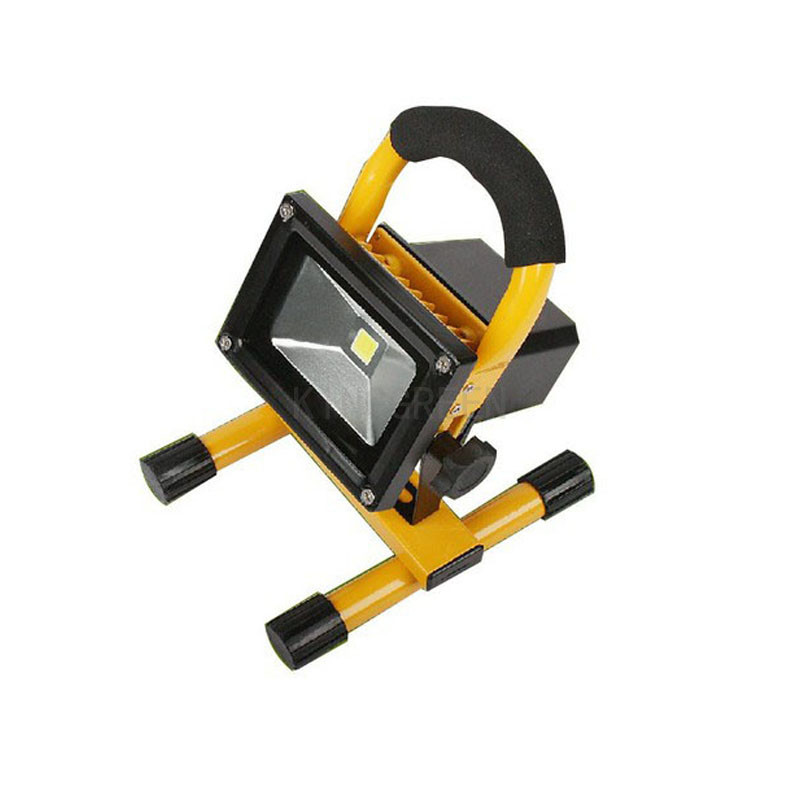 1X High quality 10W/20W rechargeable LED Flood light portable best quality emergency LED flood light free shipping<br>
