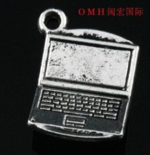 OMH wholesale Jewelry accessories 32PCS tibetan silver computer charm pendants Digital products DZ140