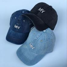 Women Ladies Caps Hats Denim Baseball Cap solid adjustable women's outdoor running tennis caps sports hats(China)
