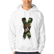 iCoup Women Men Unisex Team 10 Jake Paul Camo Green X Pullover Hooded Sweatshirt(China)