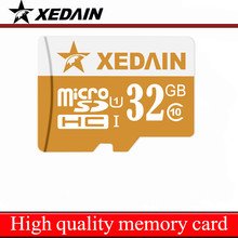 Xedain Brand Micro SD Micro SDHC U1 8GB 32GB MicroSDXC U3 64GB Max Memory Card 16GBC6 TFCard Support Official Verification Phone(China)