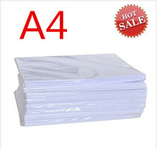 180gsm A4 RC sticker photo paper with self adhesive 20 sheets one bag(China)