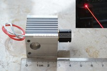 638nm 300mw Orange Red Focusable Adjustable Laser Dot Module w/ Heatsink(China)
