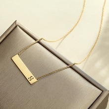 925 Sterling Silver Light-Gold Plating Pendants Fashion True love Romantic Swing Drop Necklace Gift For Women Choker Jewelry