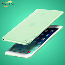 "KISSCASE 7.9"" Clear Transparent Case for iPad mini 4 Soft TPU Silicone Cover for apple ipad mini4 Slim Tablets PC Accessories(China)"