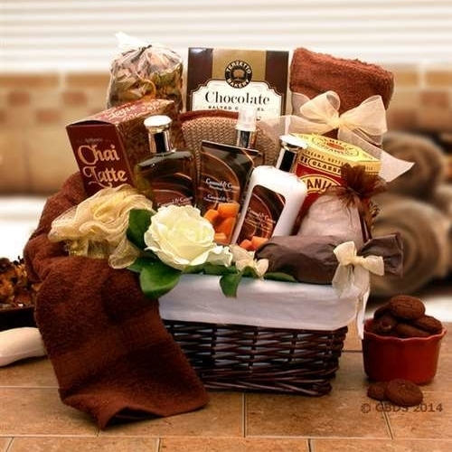 Gift Basket Drop Shipping 8413602 Caramel Indulgence Spa Relaxation Gift Hamper (1)
