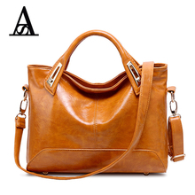 AITESEN 2017 Brand Handbag PU Leather Bags Women Handbag Fashion Vintage Tote Bags Shoulder Bag Portable Bags Michael Handbags