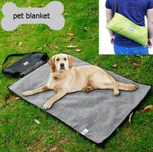 New design pet dog cat Multifunction outdoor blanket doggy Foldable waterproof warm mat puppy portable blankets products