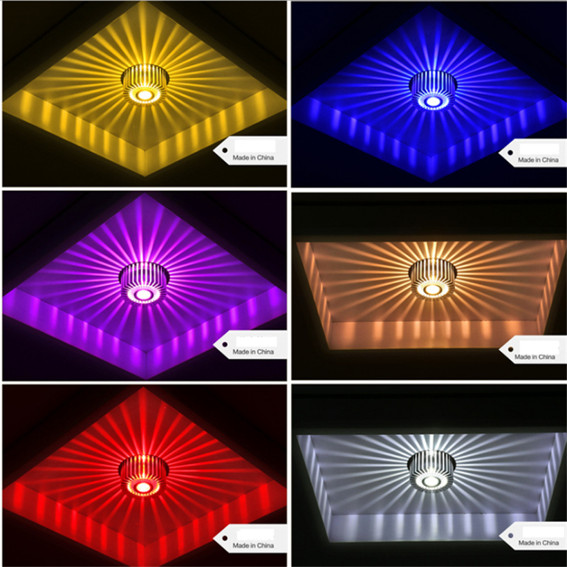 LED Crystal Aisle Celling Light (13)