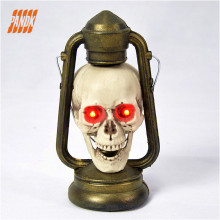 Halloween Animated Skeleton Skull Lantern Haunted House Escaping the Grave Ghostl Decorated Home Statue Party Gifts & Decor  Fr
