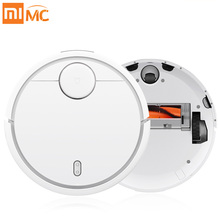 Original XIAOMI MIHome Smart Plan Type Robotic Vacuum Cleaner with Mijia Wifi App Control and Auto Charge for Home Sweeping Dust