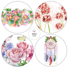 Alideco Washi Masking Tapes Dream catcher Flower butterflies Adhesive Tapes Scrapbooking Stickers 3 cm*10m(China)