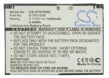 BTR5700B Cell Phone Battery For AT&T SMT5700, SMT-5700 (1200mAh)(China)