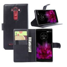 For LG G flex 2 case cover ,New 2015 fashion luxury filp Lychee leather wallet stand phone case cover cell phones