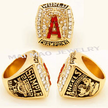 Fashion Jewelry Rings 2002 Anaheim Angels World Series Championship Ring  Jewelry Ring For Men