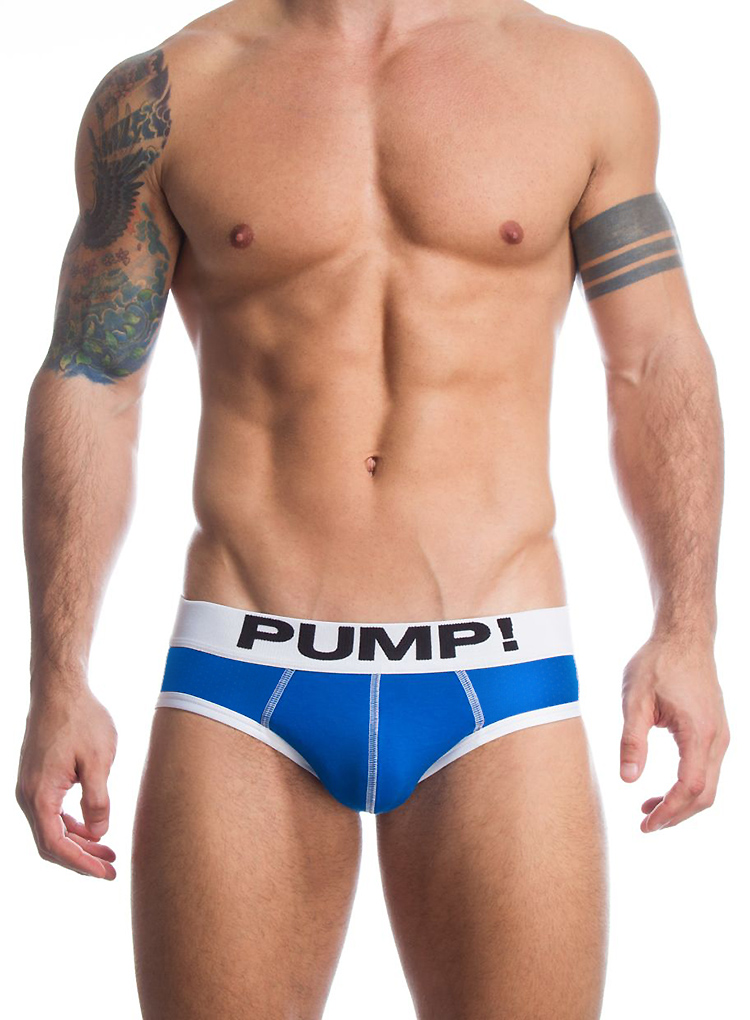 PUM! Brand Men Underwear Briefs high quality Cotton sexy Men Bikini Gay penis pouch gay underwear calzoncillos hombre slips 3