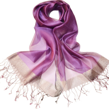 Beach Use Purple Color 2017 Fashion Scarve Solid Color Pashmina Shawl Wrap Fringe Prom Weddings Evening Scarfs for Women(China)