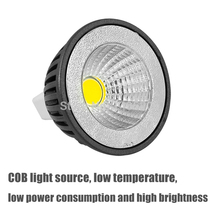 New Product LED COB Spotlight 3W GU10 High Bright 350lm (MR16/E27) AC85-265V CE&ROHS New generation light source.Free shipping!