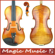 SELECTED! 18 Years Old European Spruce! Stradivarius Lord Wilton Top Master Violin 4/4 #1738, Handmade Oil Varnish