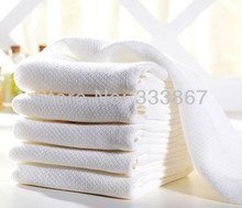 [Sigzagor] 50 x 100% BAMBOO MUSLIN SQUARES Baby Gauze Bath Wash Towel cloths Wipe burpy bibs 50cm/19.6inchx70cm/27.5inch 50/lot(China)