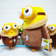 Hot Sale Minions Plush Toys 33cm Despicable Me Plush 3 3D Eye Cosplay Action Figures Baby Kids Girls Doll 6 Styles