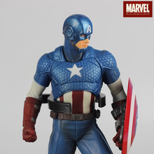Animation Garage Kid Captain America Collection Toys: Marvel Action Figure PVC Dolls Steve Rogers-Chris Evans Model Best Gifts
