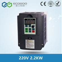 2.2kw 220v AC Frequency Inverter & Converter Output 3 Phase 650HZ ac motor water pump controller /ac drives /frequency converter(China)