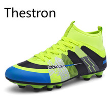 Soccer Cleats Football Shoes Men Women Kids Sock Boots Football Original New 2017 Trainers Cheap Skid-Resistance Football Boots