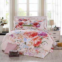 Bedclothes 4 PCS/Lot New Printing Bedding Set 100% cotton Bed Set Duvet Cover / Bed Sheet / Pillowcase Bedding Sets