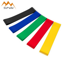 SUPWAW 3PCS Resistance Band Gym Strength Training Performance Yoga Rubber Loops Bands Pull Rope Fitness CrossFit Equipment