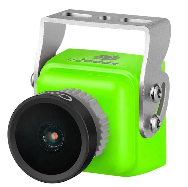 Caddx.us Turbo SDR1 PAL/NTSC 2.0mm FPV Camera 1200TVL 16:9/4:3 5V-40V 11.8g UAV DIY Mini Racing Camera for RC Quadcopter Parts<br>
