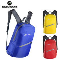 ROCKBROS 18L Cycling Waterproof Bicycle Bag Leisure Sports Bag Ultralight Bike Backpack Breathable Portable Folding Backpack Bag(China)