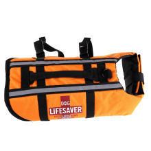 Orange Dog Pet Float Life Jacket Life Vest Aquatic Safety Swimming Suit Boating Life Jacket S/M/L   MTY3