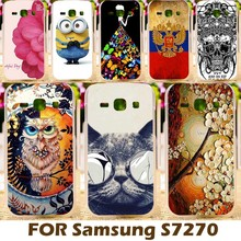 Hard Plastic Case For Samsung Galaxy Ace III 3 S7270 S7272 4.0 inch ACE3 S7275 S7278 AceIII Phone Bag Cases Covers Shell Skin