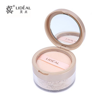 LIDEAL Brand Finishing Translucent Face Contour Palette Loose Powder Setting Makeup Bare Mineralize Skinfinish Soft Gentle