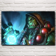 World of WoW Hearthstone Video Game Art Silk Poster Home Decor Printing 12x19 15x24 19x30 22x35 Inch Free Shipping
