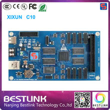 Xixun C10 asynchronous rgb led Control Card 1024x64 pixels controller card rgb led video wall display billboard led electronic