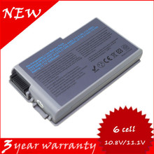 Laptop battery 0X217 1X793 310-4482 310-5195 312-0068 312-0090 312-0191 For Dell Inspiron 500m 510m 600m