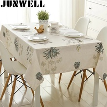 Junwell New Arrival Floral Printing Tablecloth Colorful Table Cloth Table Topper  Different Sizes Available