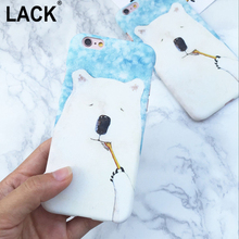 LACK Cute Animal Bear Case For iphone 5 Case For iphone5 5S SE Cell Phone Cases Ultra thin frosted Hard Back Cover Capa Coque(China)