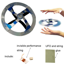 Mystery Mid Air UFO Floating Fly Saucer Magic Toy Magic Trick Props Show Tool Magic Trick Toy For Kids
