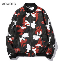 2017 Spring Military Camouflage Jacket Men Bomber Casual Slim Fit Army Camo Baseball Chaquetas Hombre Plus Size M-5XL - Mens Clothing store