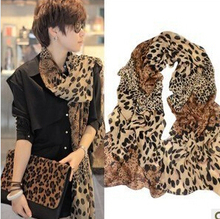 Hottest women winter warm scarf, fashion scarf , leopard scarf ,chiffon cotton Bohemia Scarf