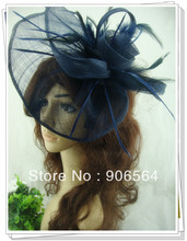 Free shipping 17 colors avaliable sinamay fascinator hair accessories cocktail hats/party hats nice millinery 6pcs/lot MSF252