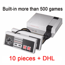 10 pcs Mini Family TV Game Console 8 Bit Retro Video Game Console Built-In 500 No Repeat Games Handheld Gaming Player Best Gift