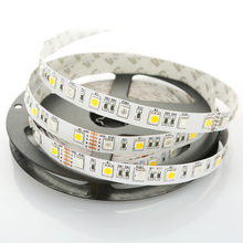 DC 24V RGBW LED Strip Light SMD 5050 5M 300 led flexible tape rope stripe light 12mm PCB RGBWW RGB white or warm white 60leds/m