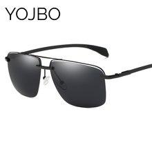 a6e11ff8ddae9 YOJBO HD Polarizada Espelho óculos de Sol Das Mulheres Dos Homens 2018  Óculos de Sol Das Senhoras Retro Famosa Marca Designer Vi.