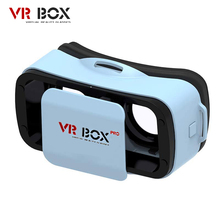 "VR BUCINUM VR BOX 3.0 PRO 3D Glasses Immersive Virtual Reality VR Headset with 3 Color for 4.5-5.5"" IOS & Android Smartphones"