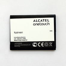 CUUSEY 2017 Battery TLI014A1 For Alcatel One Touch 4012 4012A 4012X 4033D 5020 M POP CAB31P0000C1 1400mAh Replacement Batteries(China)